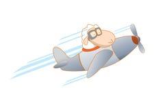 Pecore pilota sull'aereo Immagini Stock Libere da Diritti