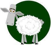 Pecore tristi illustrazione vettoriale