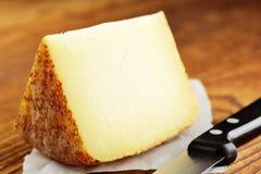 Pecorino,典型的意大利干酪 库存照片
