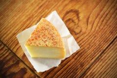 Pecorino,典型的意大利干酪 库存图片
