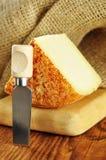 Pecorino,典型的意大利干酪 免版税库存照片