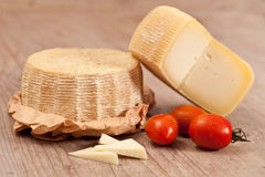 Pecorino cheese Stock Photography
