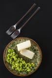 Pecorino cheese pods Stock Photos