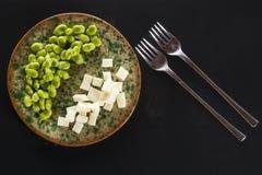 Pecorino cheese pods Royalty Free Stock Photos