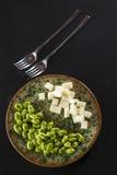 Pecorino cheese pods Royalty Free Stock Photo