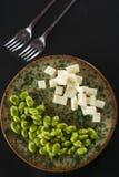Pecorino cheese pods Royalty Free Stock Images