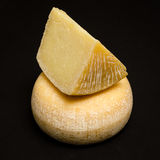 Pecorino of Sardegna. Selection of cheeses made in italy stock images