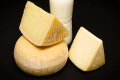Pecorino of Sardegna. Selection of cheeses made in italy royalty free stock photography