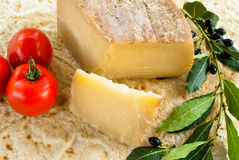Pecorino of Sardegna Stock Photography