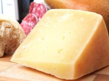 Pecorino toscano cheese Royalty Free Stock Photo