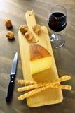 Pecorino toscano, typical italian cheese Stock Images