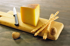 Pecorino toscano, typical italian cheese Royalty Free Stock Photos
