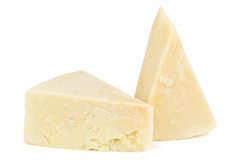 Pecorino on white Royalty Free Stock Photography