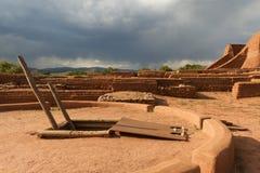 Pecos国家历史公园 免版税库存照片