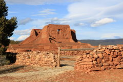 Pecos Church ruin Stock Photo