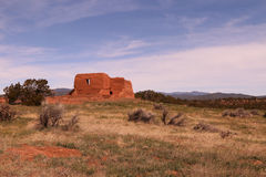 Pecos Mission Ruins Royalty Free Stock Images