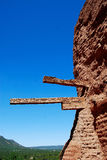 Pecos Monument. This shot was taken at the Pecos Monument of the mission, In New Mexico Royalty Free Stock Photography