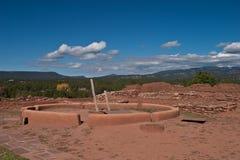 Pecos Pueblo Stock Images