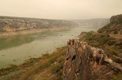 Pecos River. At the Amistad National Recreation Area in the State of Texas Stock Photos