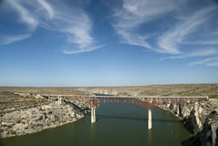 Pecos River Bridge Royalty Free Stock Photo