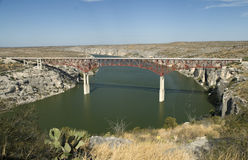 Pecos River Overlook Royalty Free Stock Photography