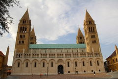 Pecs Cathedral Stock Images