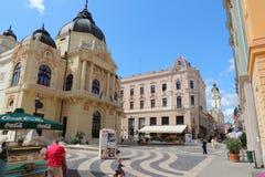 Pecs, Hongarije Stock Foto's