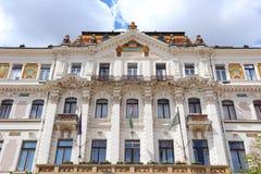Pecs, Hungary. City in Baranya county. The county hall royalty free stock photos