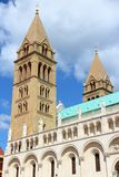 Pecs, Hungary. City in Baranya county. Romanesque Cathedral Stock Photo