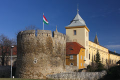 Pecs, Hungary. Medieval fortifications of Pecs, Hungary Stock Image