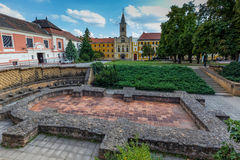 Pecs (Sopianae) - Historical Town Centre, Early Christian Mausol Royalty Free Stock Image