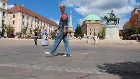 Pecs, Ungheria archivi video