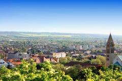 Pecs, Węgry - punkt zwrotny Zdjęcia Royalty Free