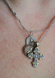 Pectoral cross Royalty Free Stock Photography