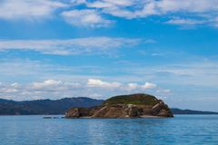 Isla Aves Costa Rica. This is a pecular island found in nicoya costa rica, this island contains more than 300 types of birds royalty free stock photos
