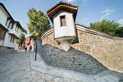 Peculiar Bulgarian architecture Royalty Free Stock Images