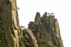Peculiar peaks Royalty Free Stock Photo