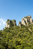 Peculiar peaks Royalty Free Stock Image