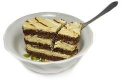 Pedaço de bolo Fotos de Stock Royalty Free
