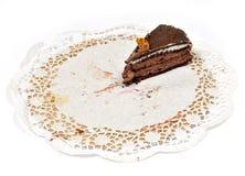 Pedaço de bolo Imagens de Stock