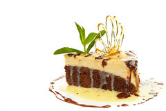 Pedaço de bolo Imagens de Stock Royalty Free