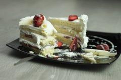 Pedaço de bolo Foto de Stock Royalty Free