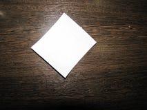 Pedaço de papel Fotografia de Stock