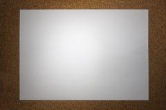 Pedaço de papel Imagem de Stock