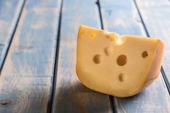 Pedaço do queijo foto de stock