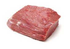 Pedaço enorme da carne vermelha imagens de stock royalty free