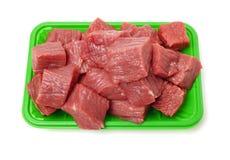 Pedaço enorme da carne vermelha imagem de stock royalty free