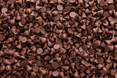 Pedaços de chocolate Imagens de Stock