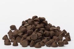 Pedaços de chocolate Fotografia de Stock Royalty Free
