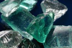 Pedaços de vidro Imagem de Stock